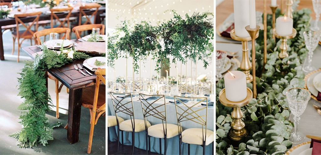 Greenery On Trend For Bucks County Pa Wedding Locations