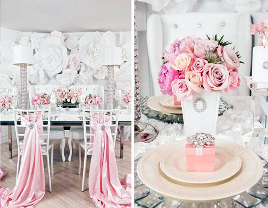 Pink Bridal Shower Tips Montgomery County Pa Bridal Shower Locations