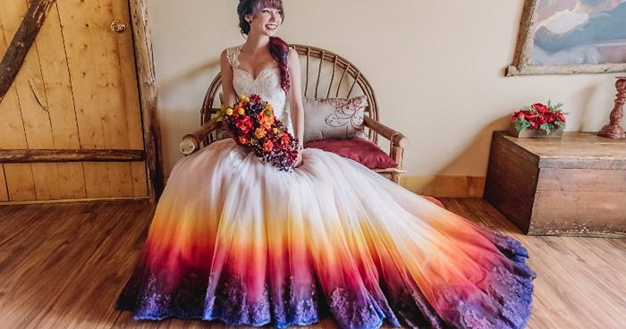 Non Traditional Wedding Dresses