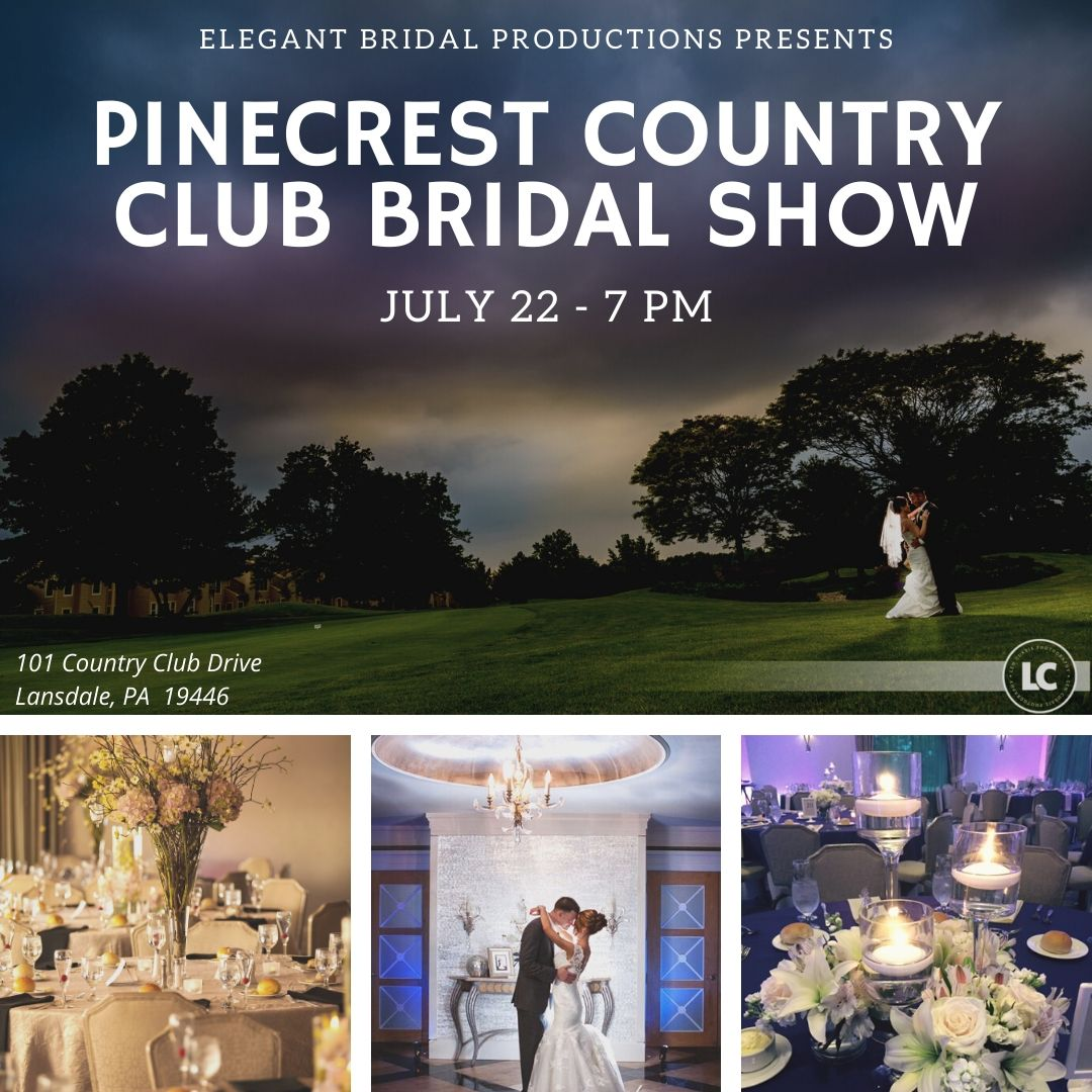 Pinecrest Country Club Bridal Show